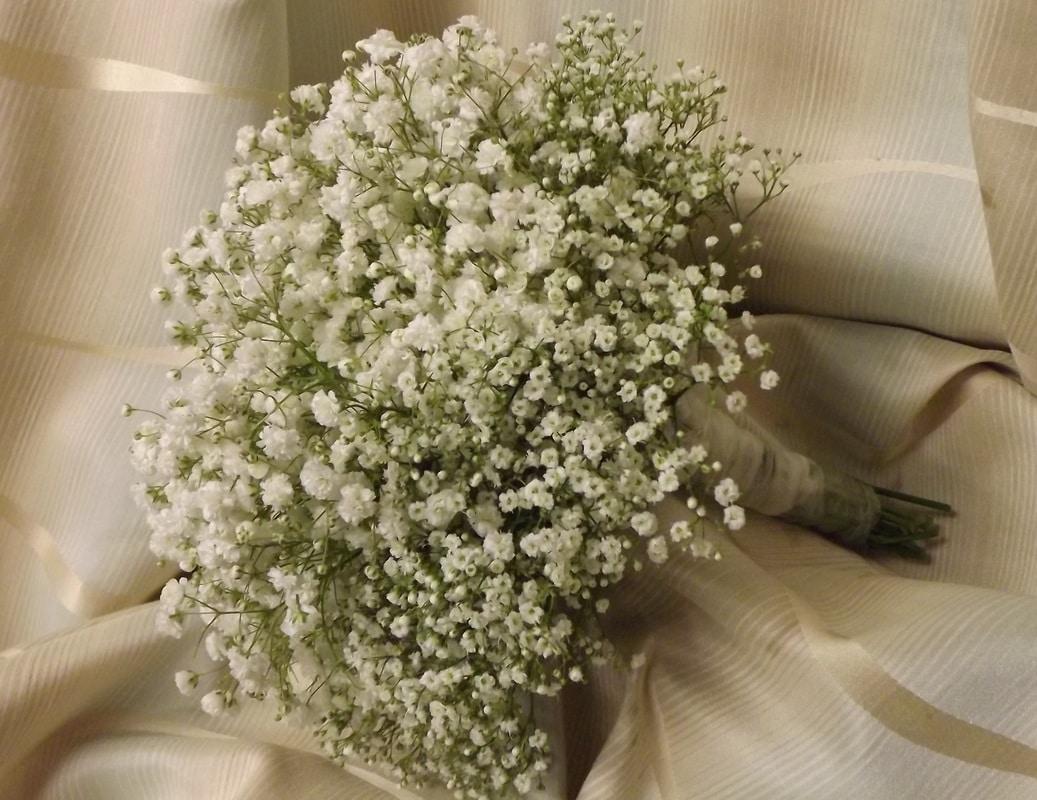Букеты, мелкие цветочки в букете как называются